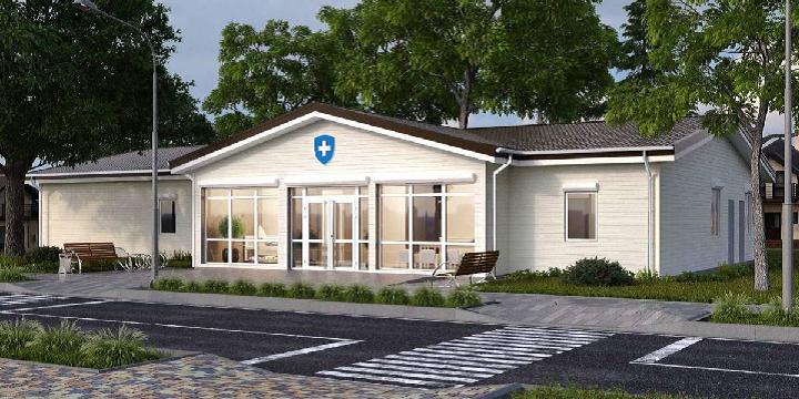 Типові проекти сучасних медичних амбулаторій у сільській місцевості