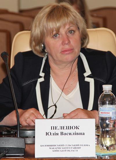 Пелешок Юлія Василівна